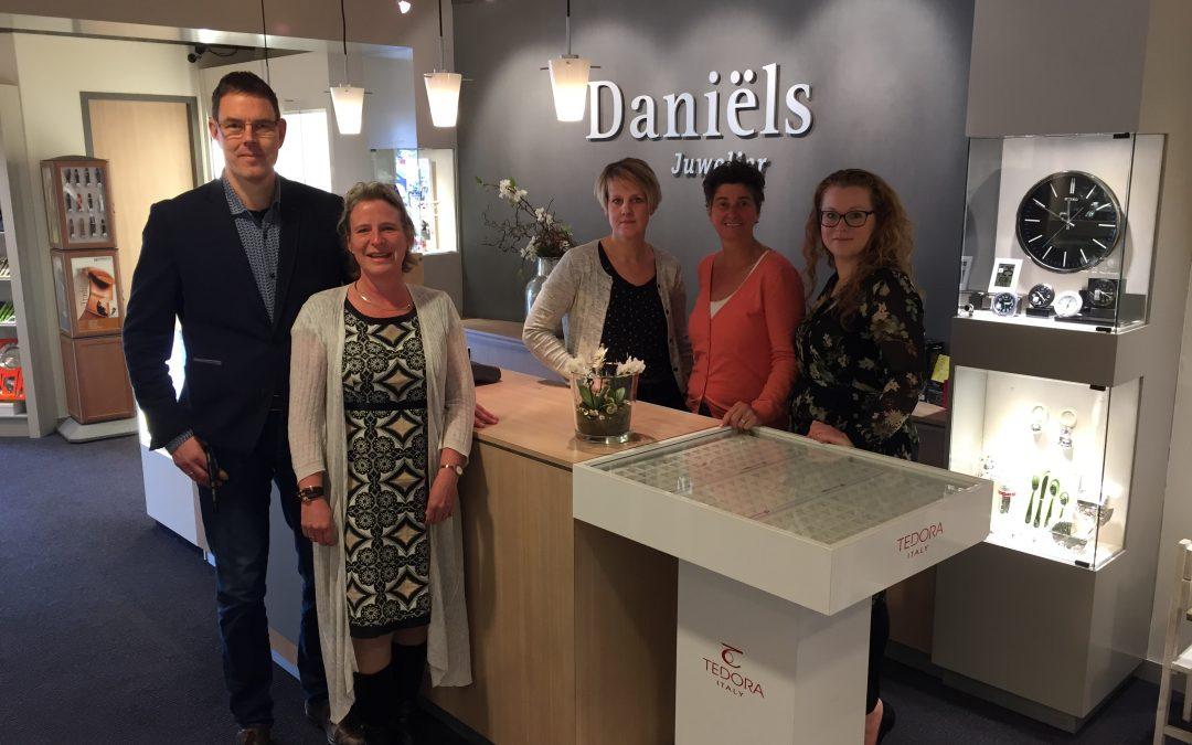 Juwelier Daniels viert 15-jarig bestaan