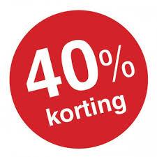 40% korting horloge SALE